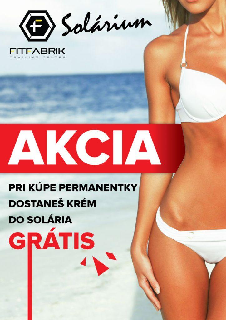 Solárium Fitfabrik AKCIA